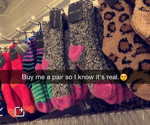 cozy, socks, and love image