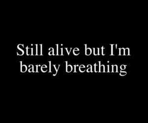 quote and alive image