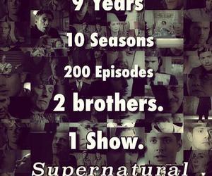 supernatural and spn image