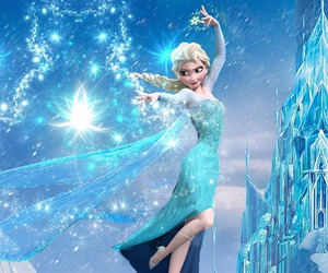 frozen, elsa, and ice image