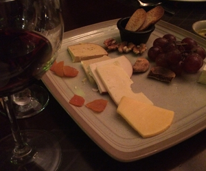 cheese, dinner, and happiness image
