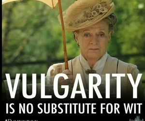 funny and downton abbey image