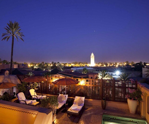 hotel, morocco, and marrakech image