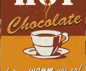 chocolate, Hot, and poster image