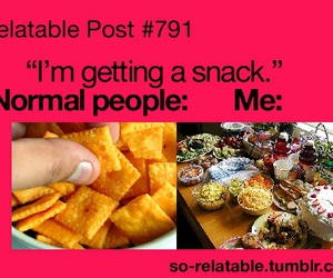 food, snack, and funny image