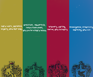 harry potter, slytherin, and gryffinoor image