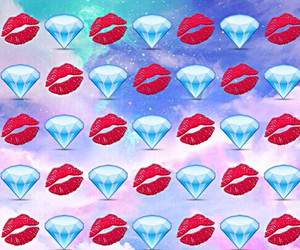 emoji, wallpaper, and diamond image
