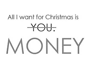 money, christmas, and funny image