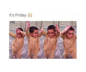 friday, funny, and dance image