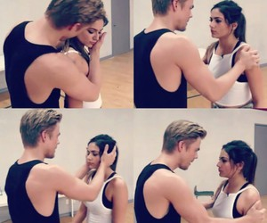derek hough and bethany mota image