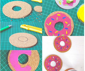 donuts, diy, and creative image