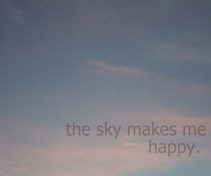 sky, typography, and words image