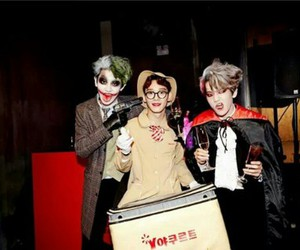 exom, chanyeol, and baekhyun image