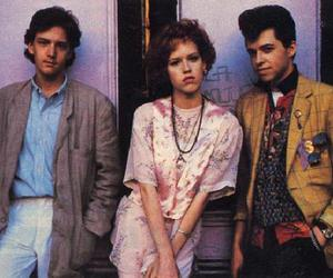 pretty in pink, Molly Ringwald, and movie image