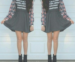 fashion, casual outfit, and shoes image