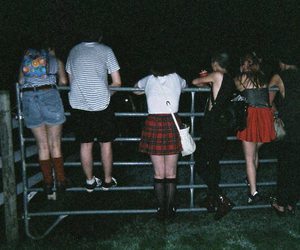 grunge, friends, and night image