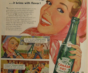 1950s, ad, and advertisement image
