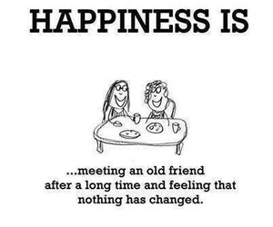 happiness, friendship, and friends image