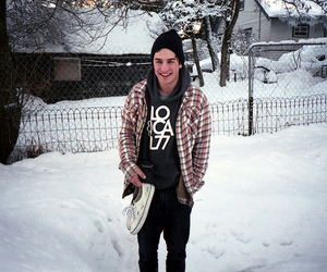 boy, snow, and cute image
