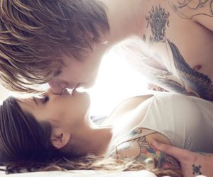 arm tattoo, aww, and boyfriend image