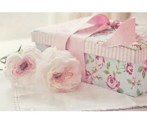 present, roses, and cute image
