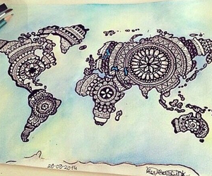 design, map, and world image
