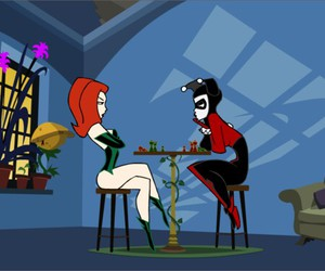 harley quinn, play, and poison ivy image