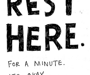 words and rest here image