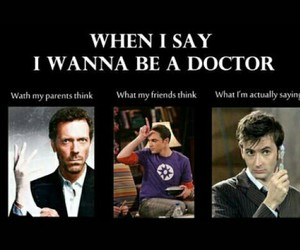 david tennant, doctor house, and doctor who image