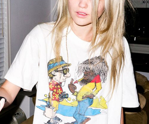 sky ferreira, grunge, and blonde image