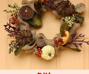 fall and wreath image