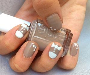 nail art, essie, and nail polish image