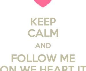 follow, we heart it, and follow me image