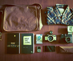 camera, hipster, and old image