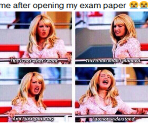 ashley tisdale, high school musical, and exam image