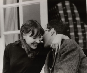 couple, anna karina, and vintage image