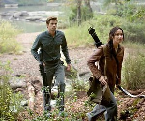 gale, mockingjay, and katniss everdeen image