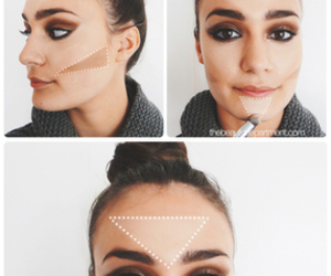 makeup and contour image
