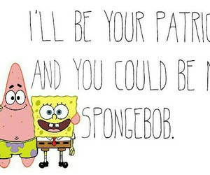 best friends, patrick, and quote image