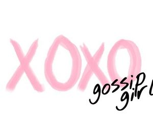 gossip girl, xoxo, and love image
