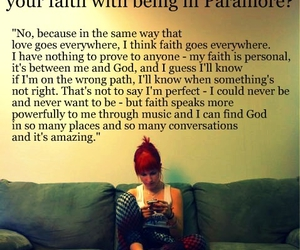 paramore, hayley williams, and love image
