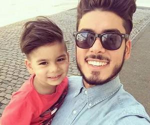 cute, boy, and dad image