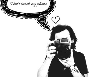 don't touch my phone and harry image