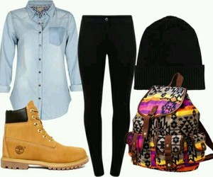 timberland and outfit image
