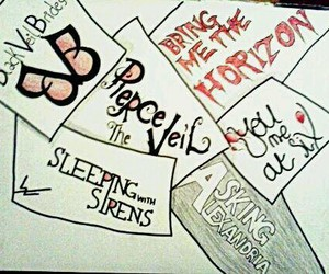 aa, bmth, and music image
