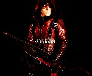 arrow, colton haynes, and roy harper image