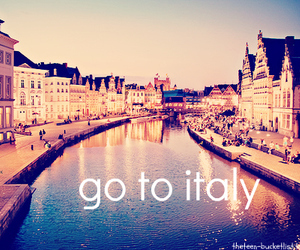 city, light, and italy image