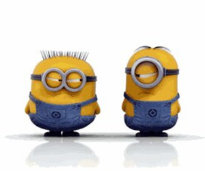 funny, yellow, and minions image