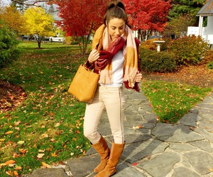 autumn, fall, and outfit inspiration image