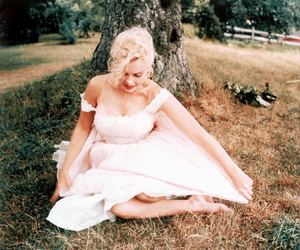 Marilyn Monroe, vintage, and dress image